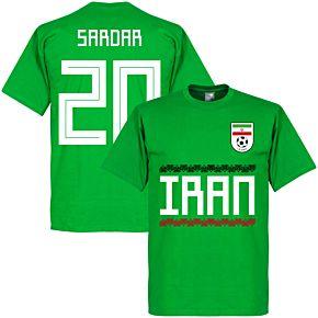 Iran Sardar 20 Team Tee - Green