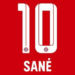 Sané 10 (Official Printing) - 21-22 Bayern Munich Home