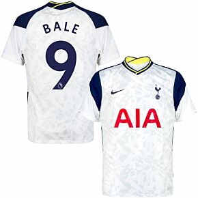20-21 Tottenham Home Shirt + Bale 9 (Premier League)