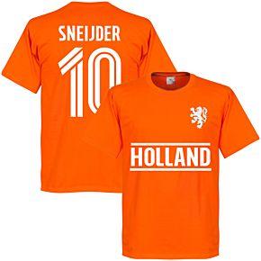 Holland Sneijder Team Tee - Orange