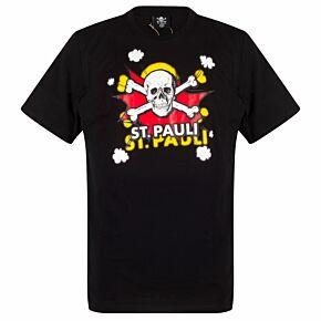 St Pauli Pow T-Shirt - Black