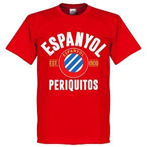 Espanyol Established Tee - Red