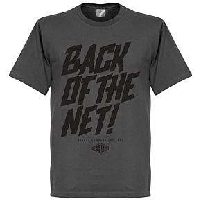 Retake Back of the Net! Tee - Dark Grey