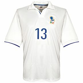 Nike Italy 1998-1999 Away FIFA 1998 Jersey - NEW Condition Match Issue No.13 - Size XL