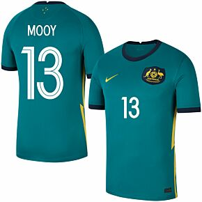 20-21 Australia Away Shirt + Mooy 13 (Fan Style)