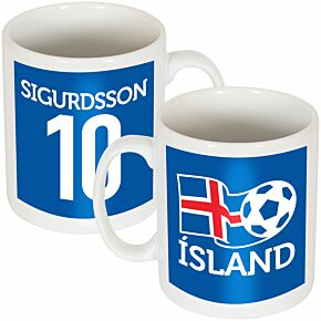 Iceland Sigurdsson Team Mug