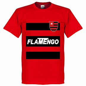 Flamengo Team Tee - Red