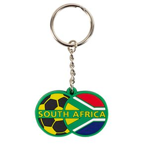 South Africa Rubber Keyring