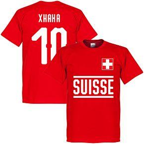 Switzerland Xhaka 10 Team Tee - Red