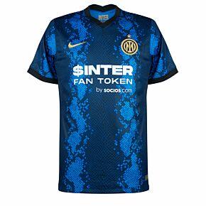 21-22 Inter Milan Home Shirt  *needs front sponsor added