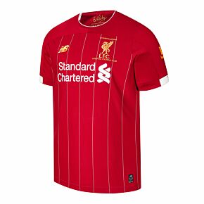 19-20 Liverpool Home P/L Champions Home Shirt