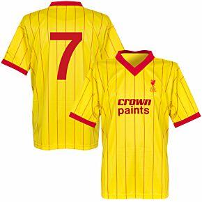 1982 Liverpool Away Retro Shirt + No. 7