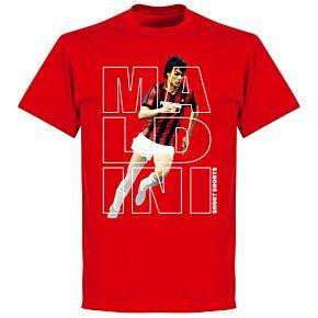 Maldini Short Shorts T-shirt - Red