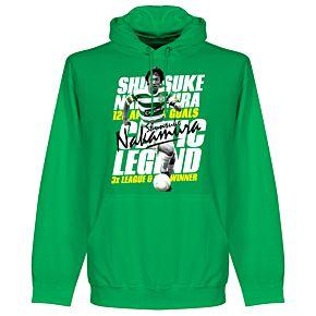 Nakamura Legend Hoodie - Green