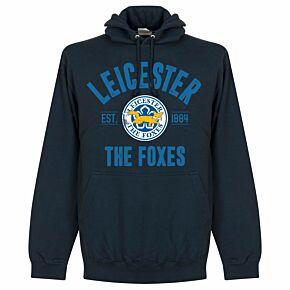 Leicester Established Hoodie - Navy