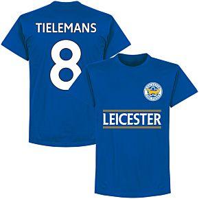 Leicester Tielemans 8 Team Tee - Royal
