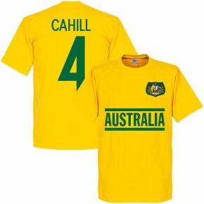 Australia Cahill 4 Team Tee - Yellow