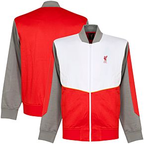 Liverpool Retro Jacket - Red/White