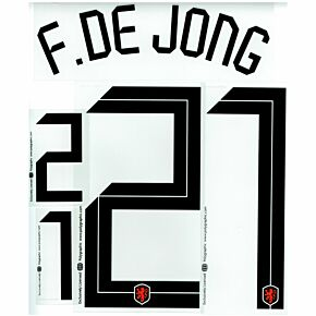 De Jong 21 (Official Printing) - 20-21 Holland Home