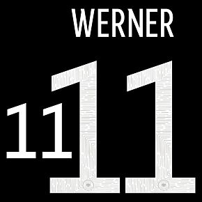 Werner 11 (Official Printing) 20-21 Germany Away