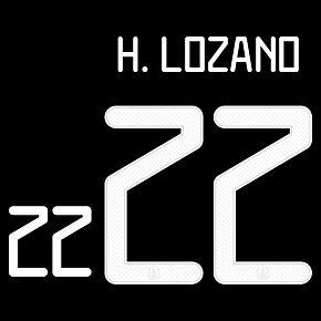 Lozano 22 (Official Printing) - 19-21 Mexico Home