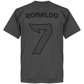 Ronaldo 7 Dragon Tee - Dark Grey