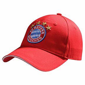Bayern Munich Logo Cap - Red