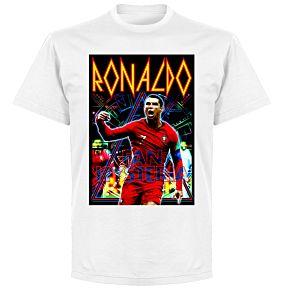Ronaldo Old-Skool HeroT-Shirt - White