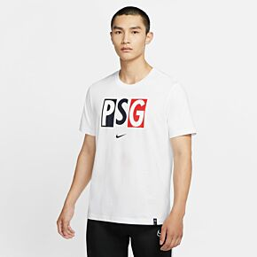 20-21 PSG Voice T-Shirt - White