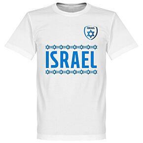 Israel Team Tee - White
