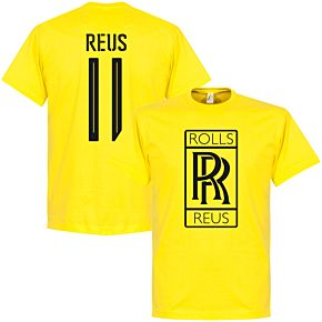 Rolls Reus Tee- Yellow