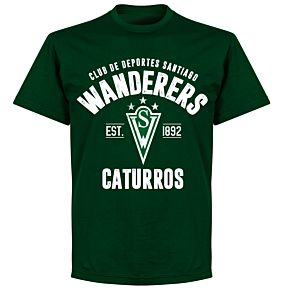 Santiago Wanderers EstablishedT-Shirt - Bottle Green