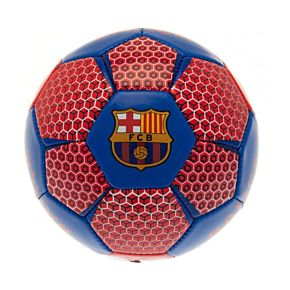 Barcelona Vector Football (Size 1) - Red/Blue