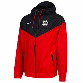 20-21 Eintracht Frankfurt Authentic Windrunner Jacket - Red/Black