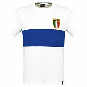 1960's Italy Away shirt - blue stripe
