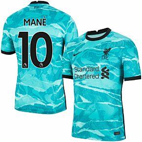 20-21 Liverpool Away Shirt + Mané 10 (Premier League)