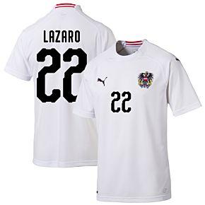 Austria Away Lazarro 22 Jersey 2018 / 2019 (Fan Style Printing)