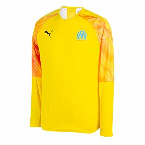 19-20 Olympique Marseille L/S GK Authentic Promo Shirt