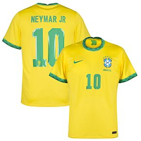 20-21 Brazil Home Shirt + Neymar Jr 10