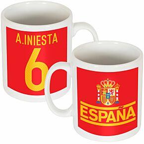 Spain A. Iniesta Team Mug
