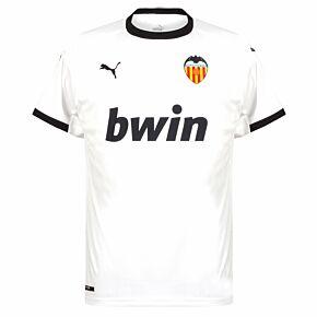 20-21 Valencia CF Home Shirt