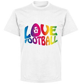 Love Football T-shirt - White