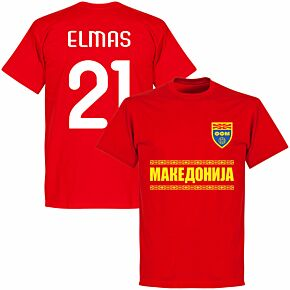 Macedonia Elmas 21 Team T-shirt - Red