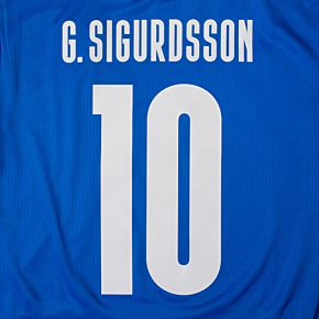 G.Sigurdsson 10 - 20-21 Iceland Home Official Printing