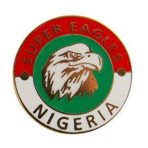 Nigeria Enamel Pin Badge
