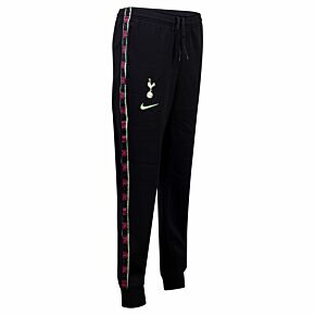 20-21 Tottenham GFA Fleece Pants - Black/Yellow