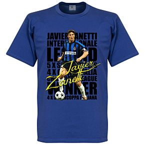 Zanetti Legend Tee - Blue