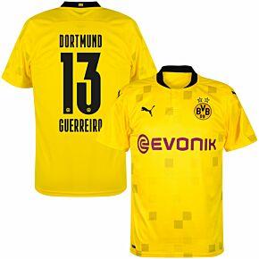 20-21 Borussia Dortmund Cup Shirt + Guerreiro 13 (Official Printing)