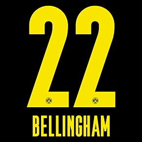 Bellingham 22 (Official Printing) - 20-21 Borussia Dortmund Away