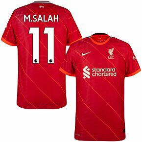 21-22 Liverpool Dri-Fit ADV Match Home Shirt + M.Salah 11